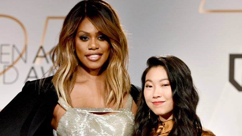 Laverne Cox and Awkwafina