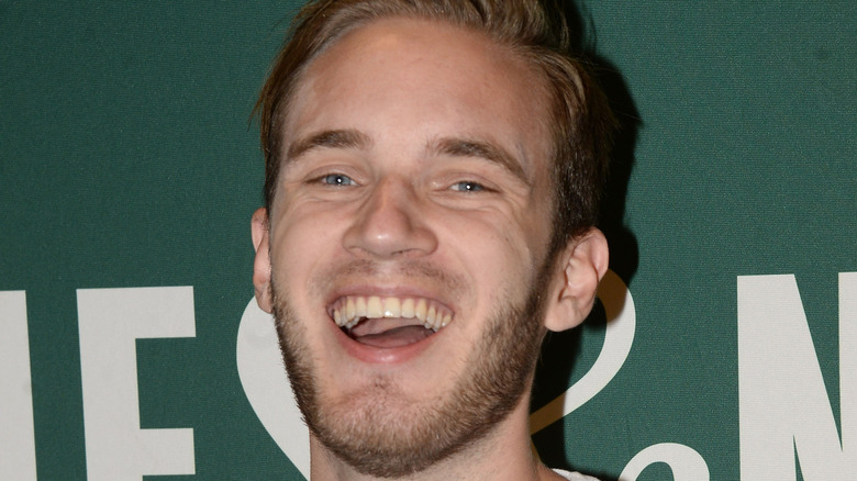"""YouTube star PewDiePie attends his book signing for """"This Book Loves You"""" 2015"""