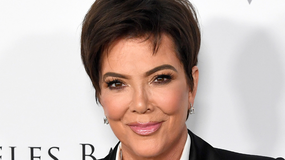 Kris Jenner smiling at an event