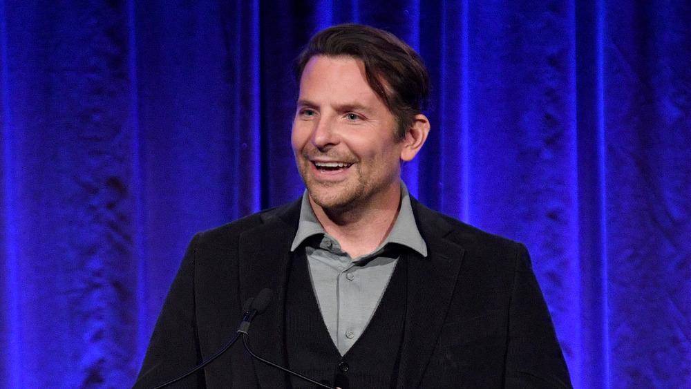 Bradley Cooper laughing