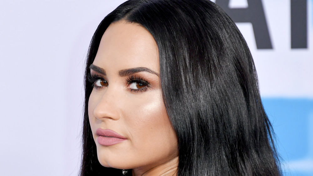 Demi Lovato at an event