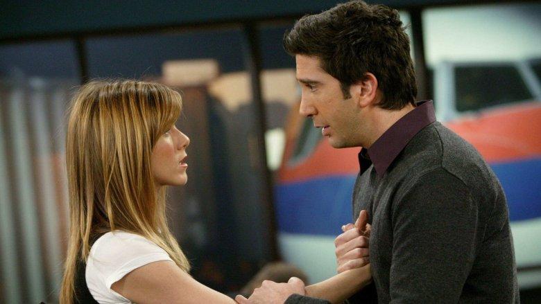 Ross, Rachel on Friends