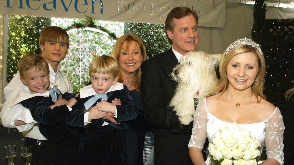 Cast of 7th Heaven, including Lorenzo Brino