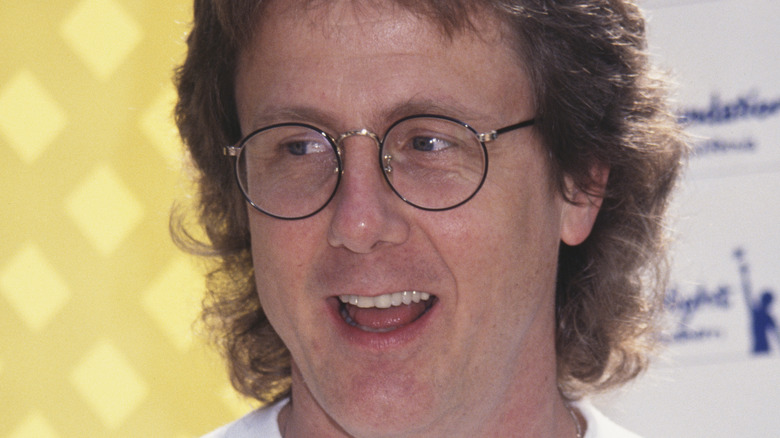 Harry Anderson glasses mullet
