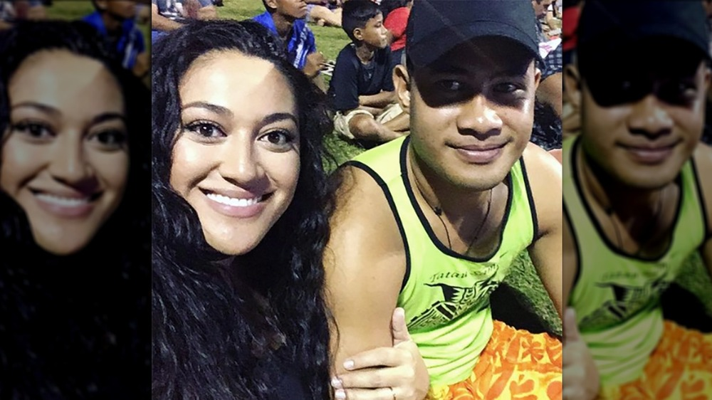 Asuelu and Kalani appear in selfie