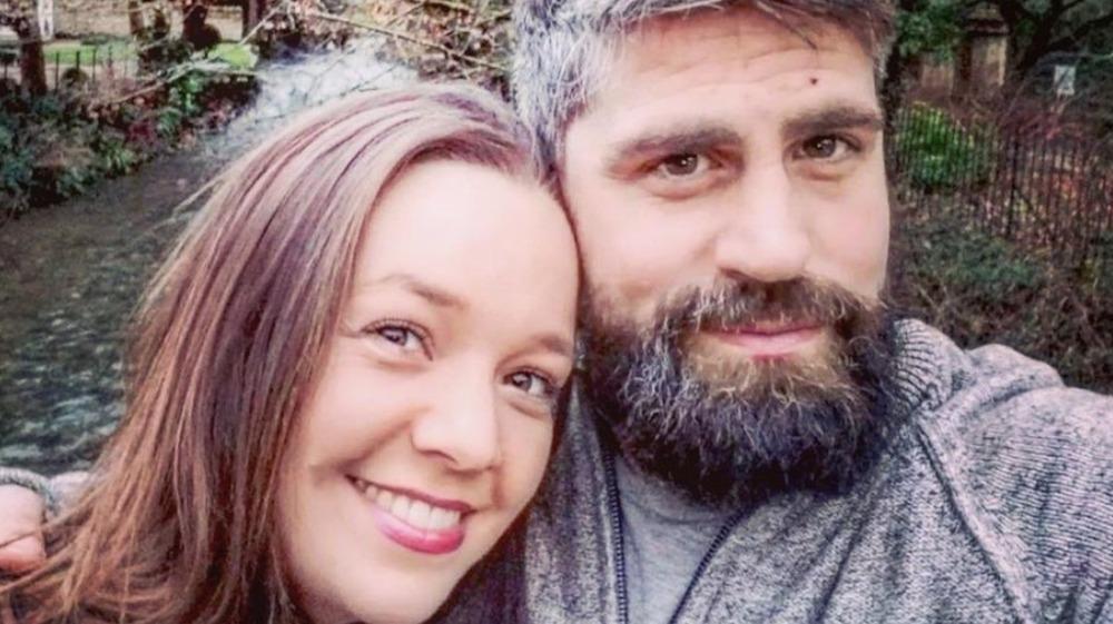 Rachel and Jon Walters taking a selfie