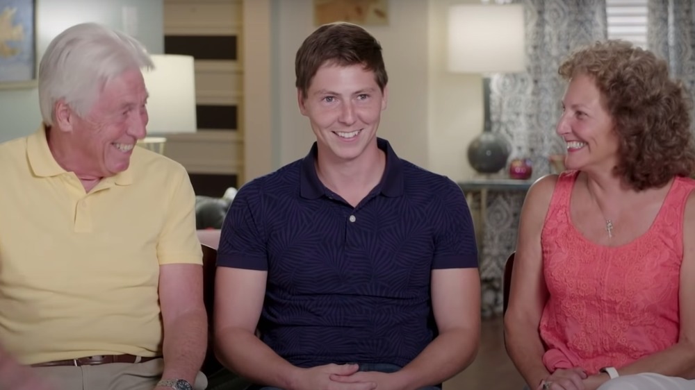 Brandon Gibbs and his parents from TLC's 90 Day Fiance
