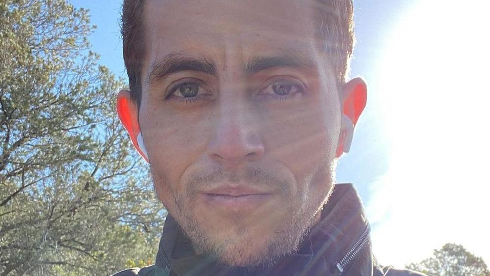 Jorge Nava in a selfie on Instagram