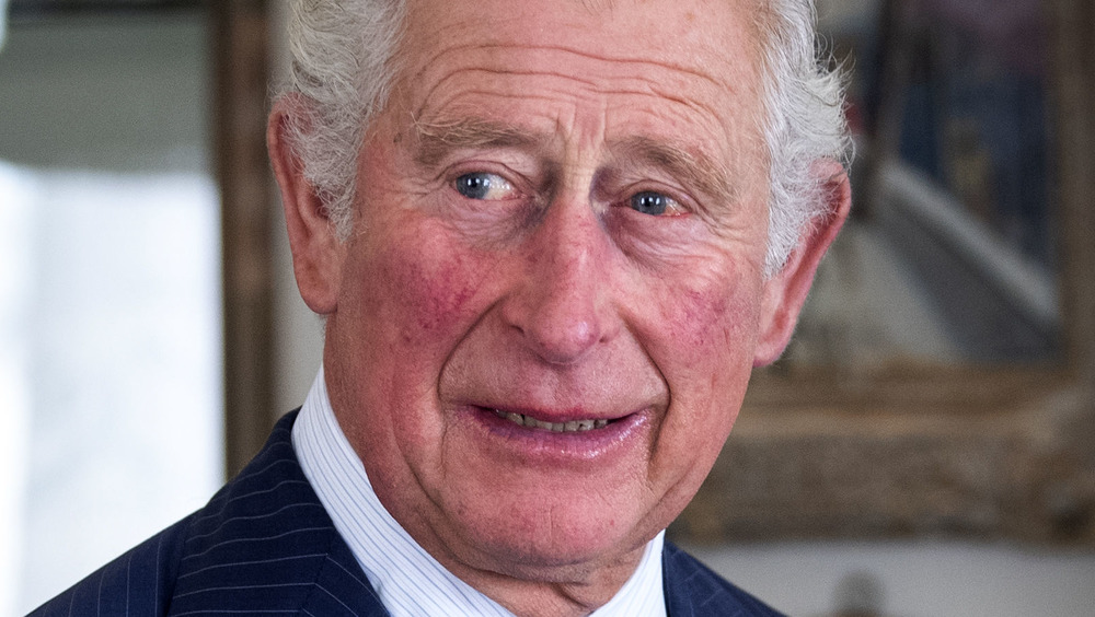 Prince Charles participating in meeting