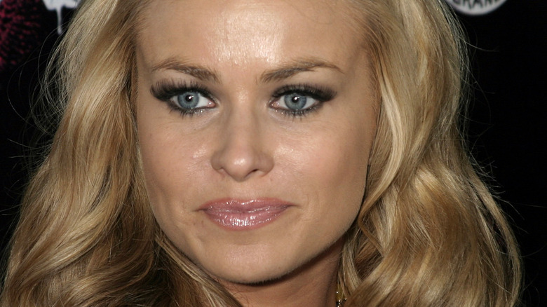 Carmen Electra on the red carpet