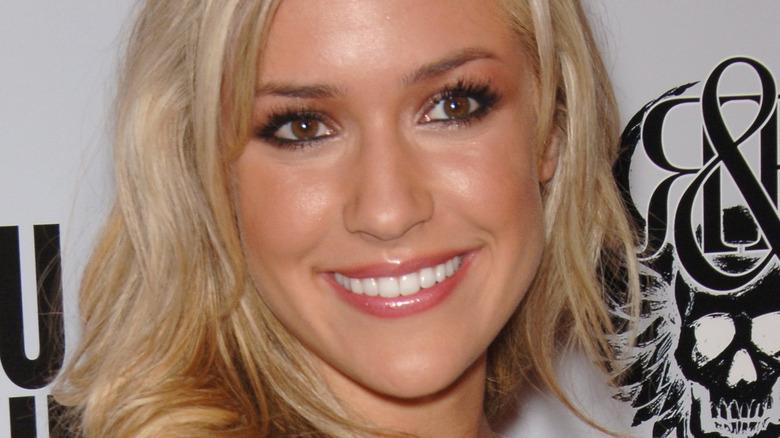 Kristin Cavallari smiling on the red carpet