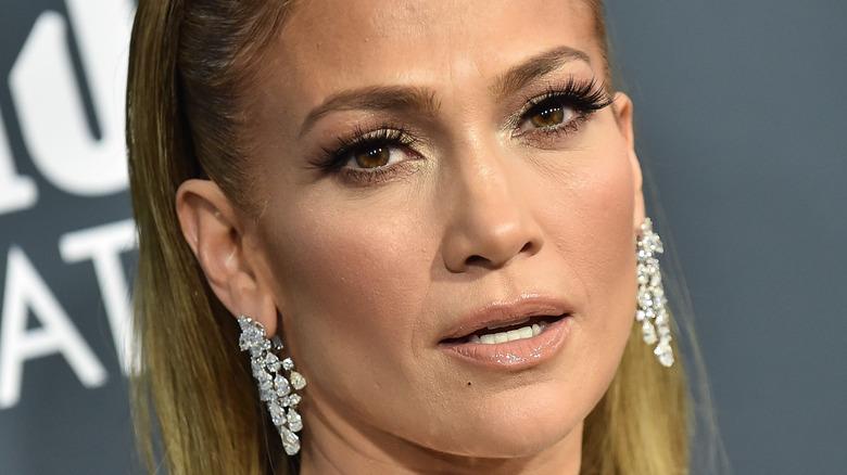 Jennifer Lopez on red carpet