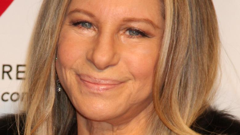 Barbra Streisand smiling