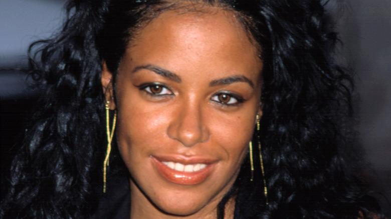 Aaliyah smiling