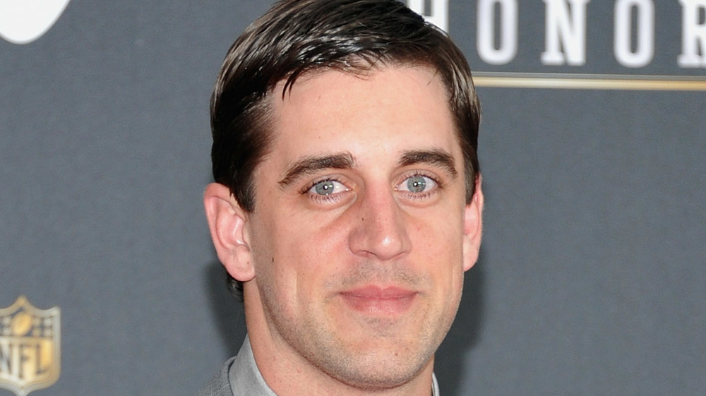 Aaron Rodgers, red carpet