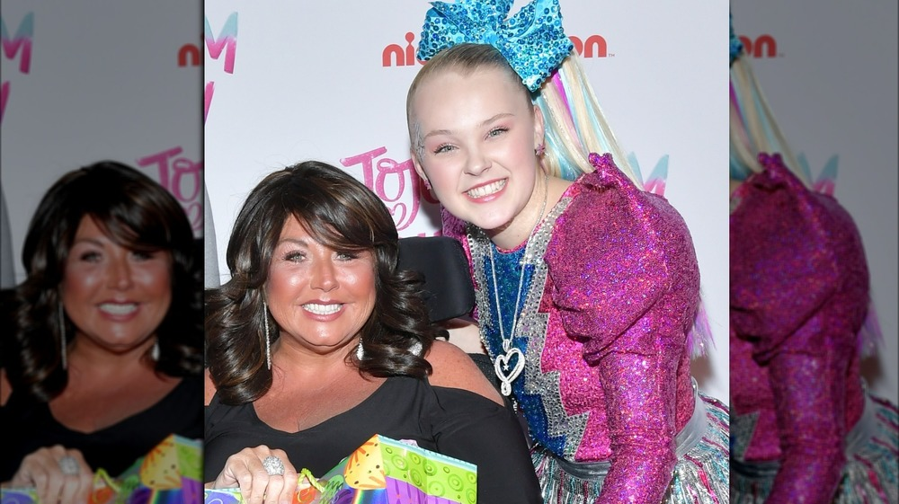Abby Lee Miller and JoJo Siwa on red carpet