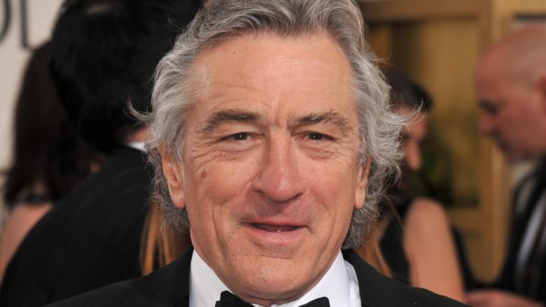 Robert De Niro wearing tuxedo