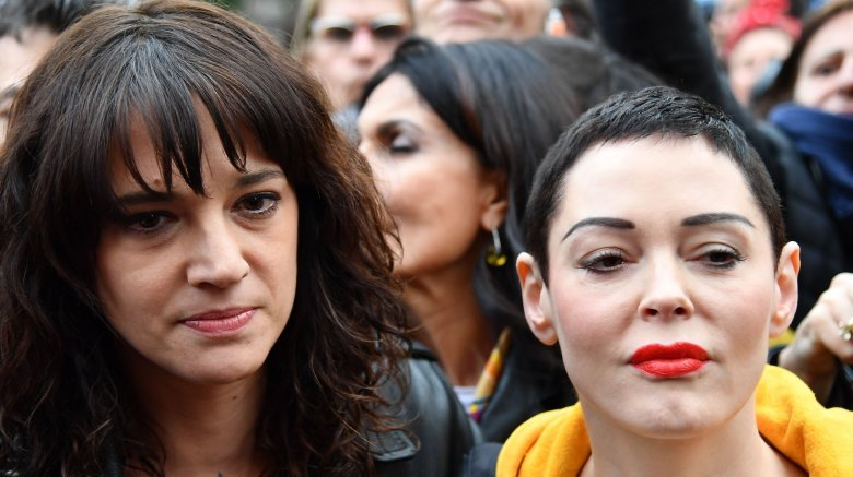 Asia Argento and Rose McGowan