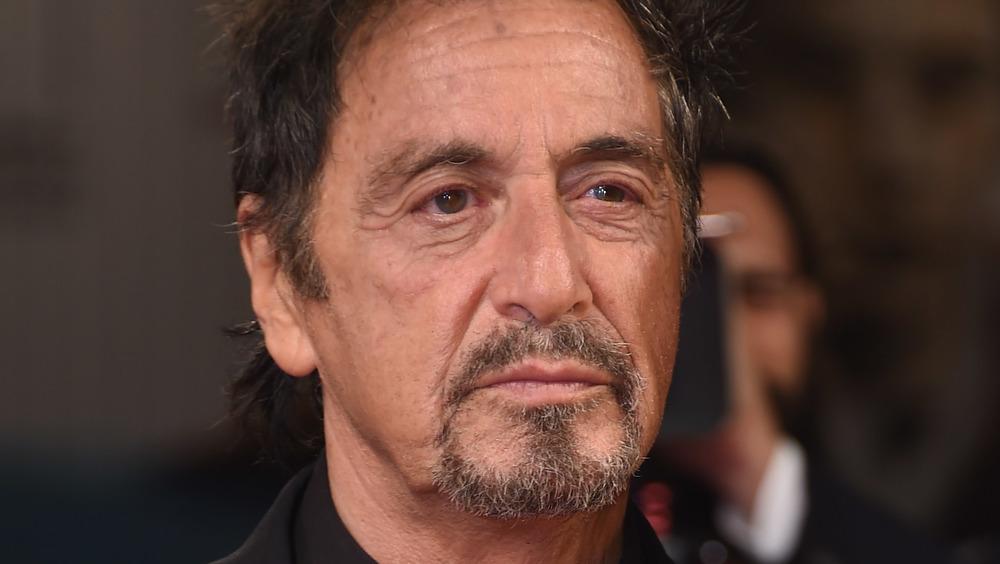 Al Pacino sporting facial hair