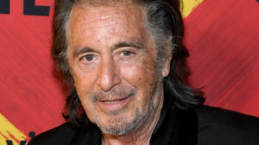 Al Pacino smiling