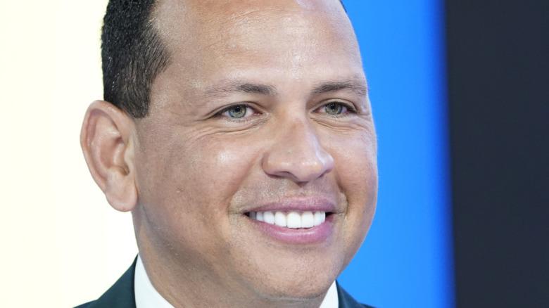Alex Rodriguez smiling