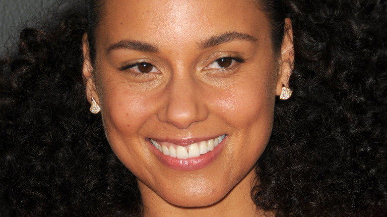 Alicia Keys on the red carpet