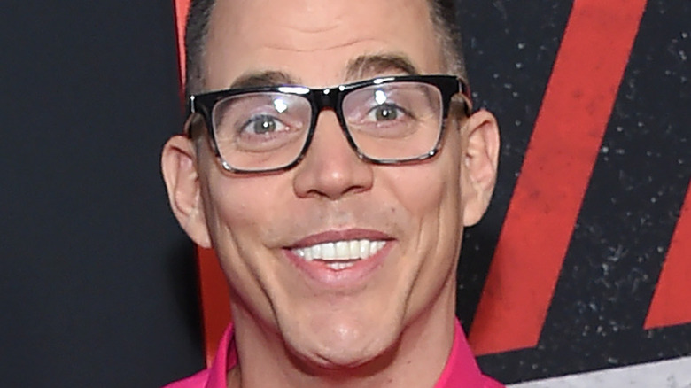"""Steve-O at the premiere of """"The Dirt"""""""