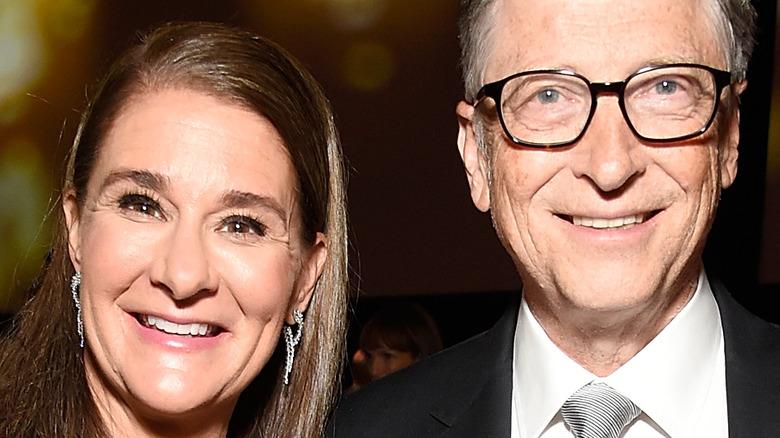 Bill and Melinda Gates at a 2018 benefit