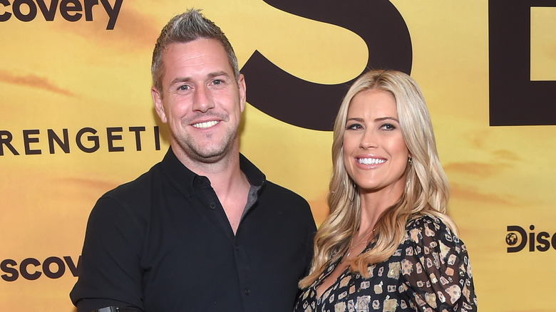 Christina Haack and Ant Anstead on the red carpet