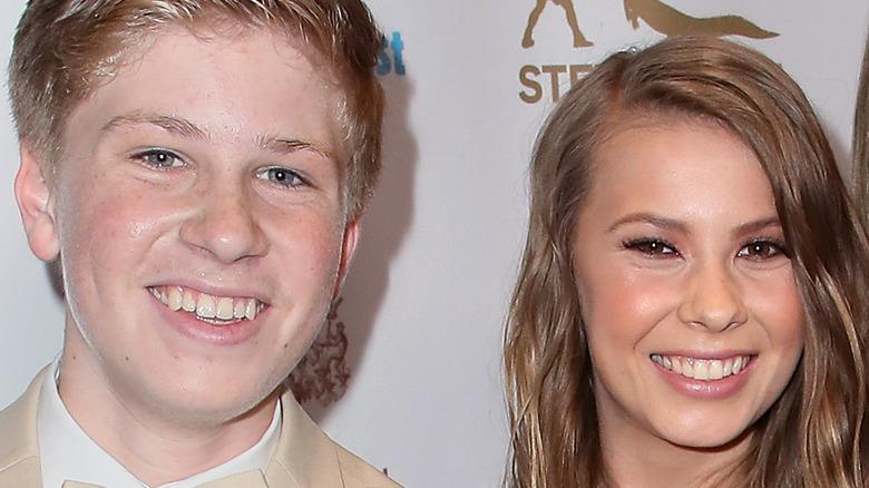 Robert and Bindi Irwin close-up