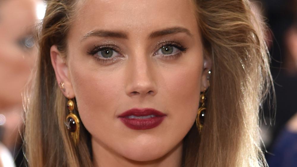 Amber Heard at an event