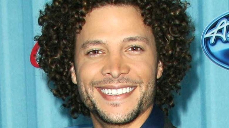 Justin Guarini smiling