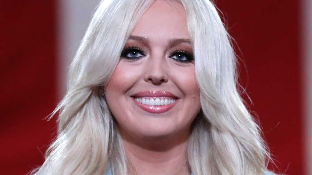 Tiffany Trumps speak on behalf of her father Donald J. Trump at the 2020 Republican National Convention