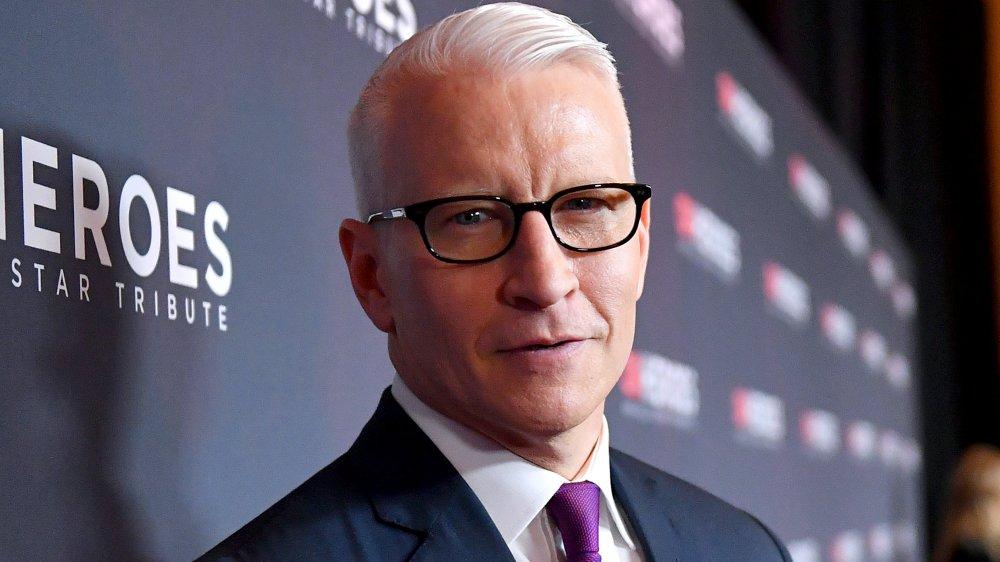 Anderson Cooper holds son Wyatt