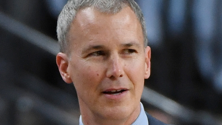 Andy Enfield coaching USC Trojans
