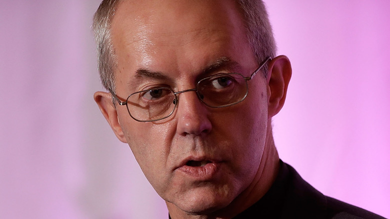 Archbishop Justin Welby speaking at conference