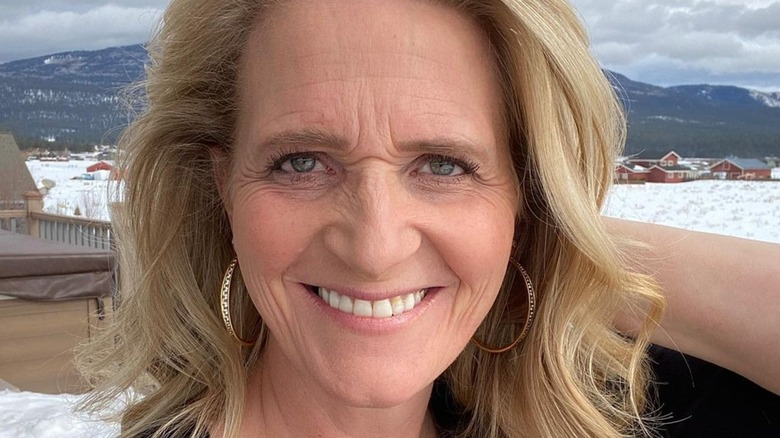 Sister Wives' Christine Brown smiling