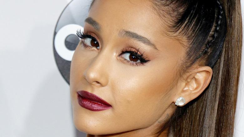 Ariana Grande posing
