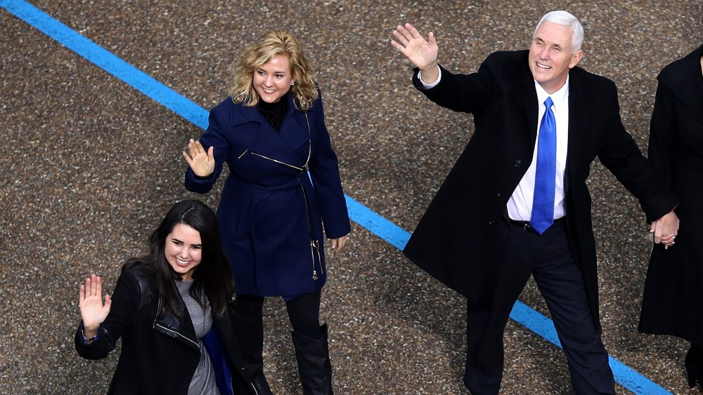 Charlotte Pence, Mike Pence, Audrey Pence