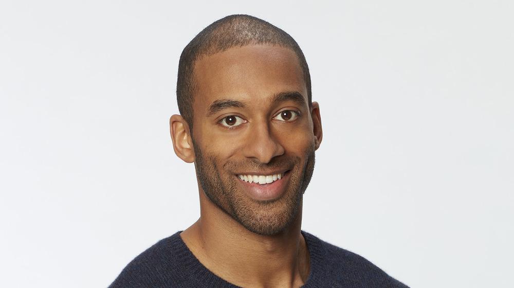 Bachelor Matt James smiling
