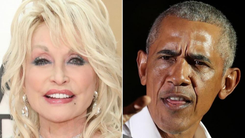Dolly Parton, Barack Obama
