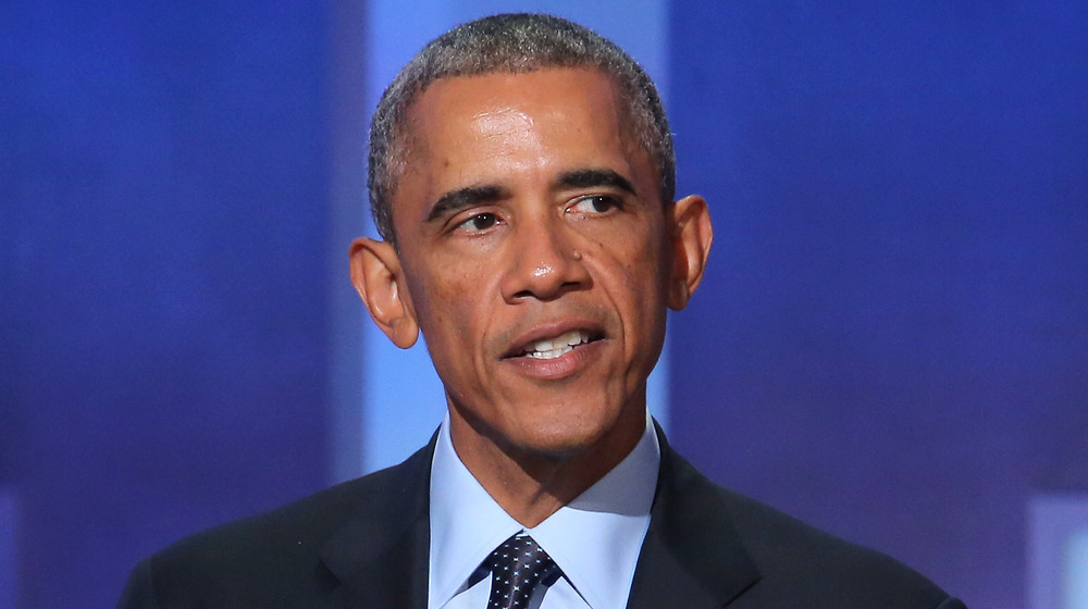 Barack Obama talking