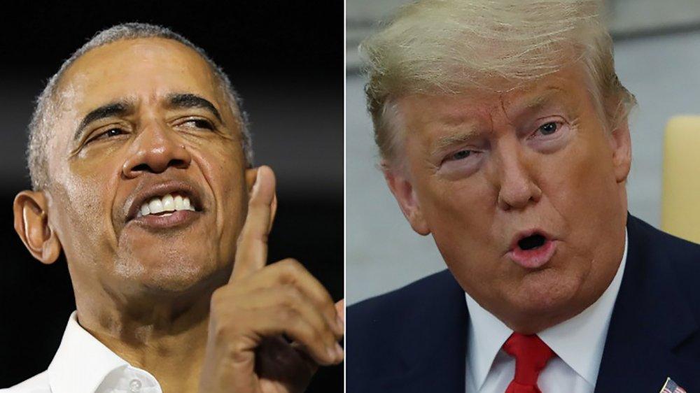 President Barack Obama & President Donald Trump
