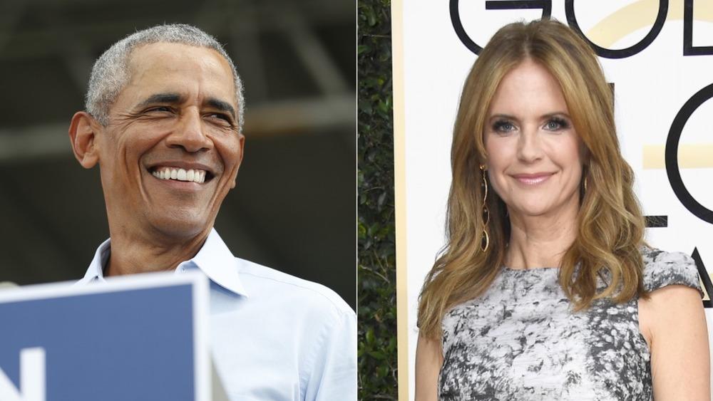 President Barack Obama & Kelly Preston