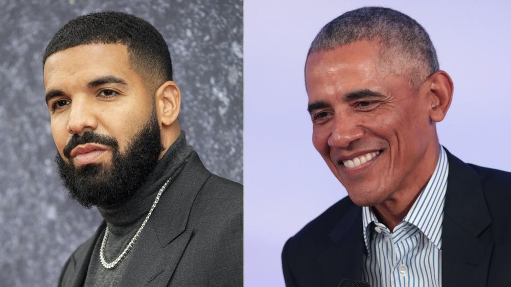 Drake and Barack Obama