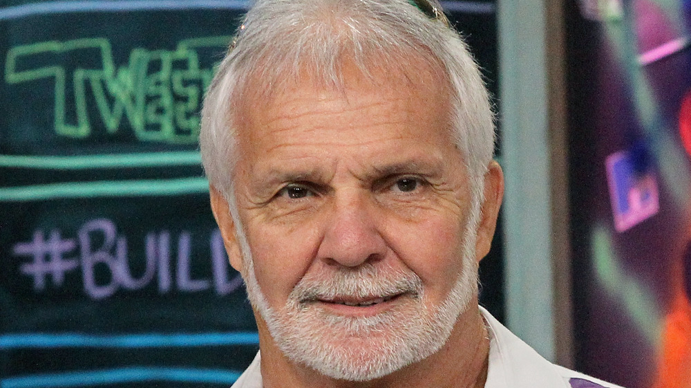 Captain Lee Rosbach staring