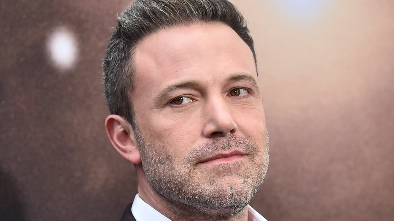 Ben Affleck looking to the side