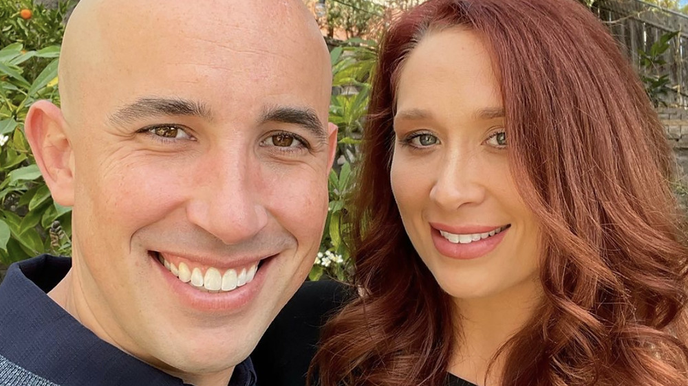 Married at First Sight's Jamie Thompson and Beth Bice smiling