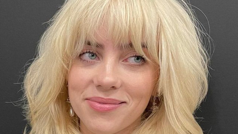 Billie Eilish smiling