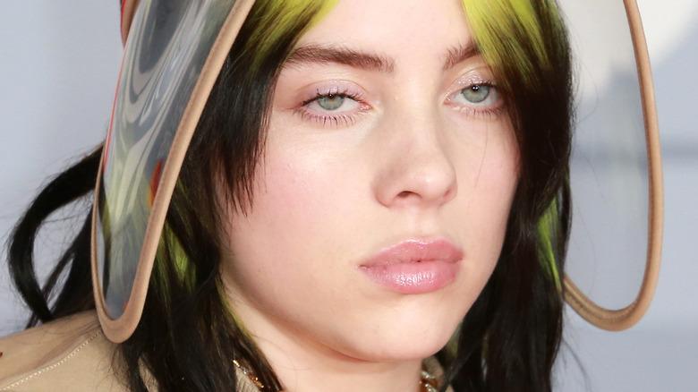 Billie Eilish at the Brit Awards 2020